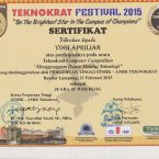 Teknokrat Computer Competition 2015