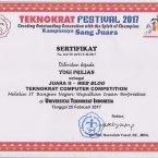 Teknokrat Computer Competition 2017